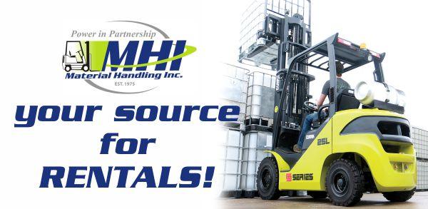 Forklift Rentals Graphic